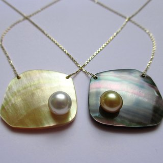 SHARE MOP / Pearl K10 Necklace