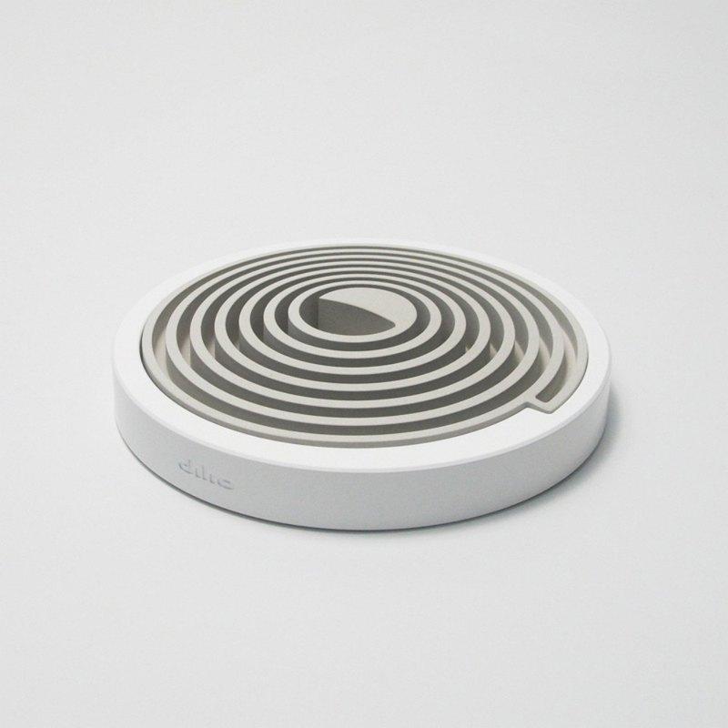 【優雅香氛氣質禮物】聞香擴香座 - 灰色系