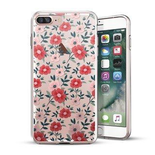 AppleWork iPhone 6/6S/7 Plus Original Protective Case - Pink Flower CHIP-063