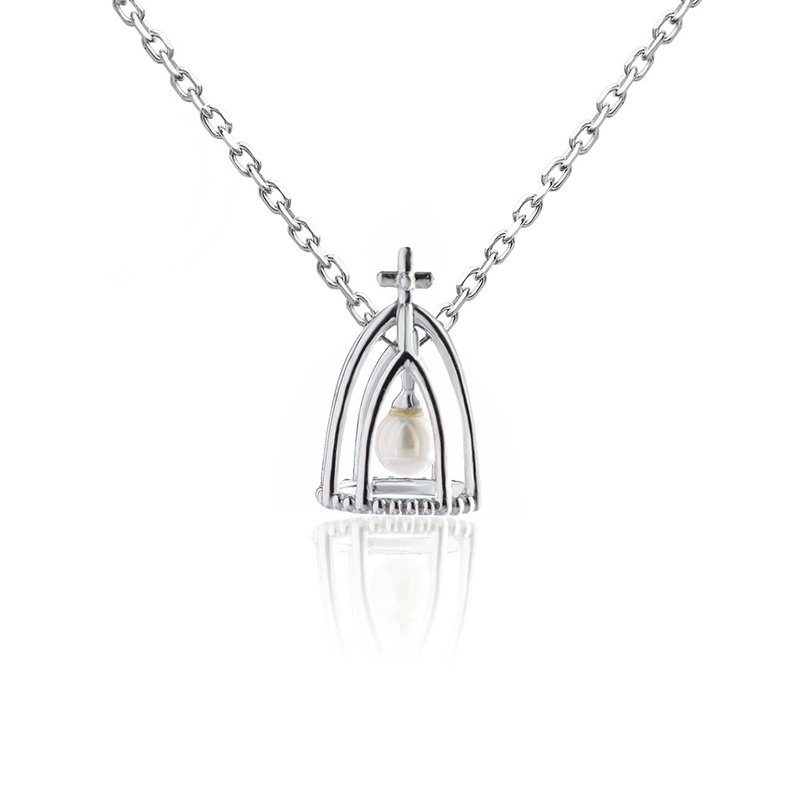 [brilliantia] 10K Jane Cross Hall - Necklace - (PZ0024)