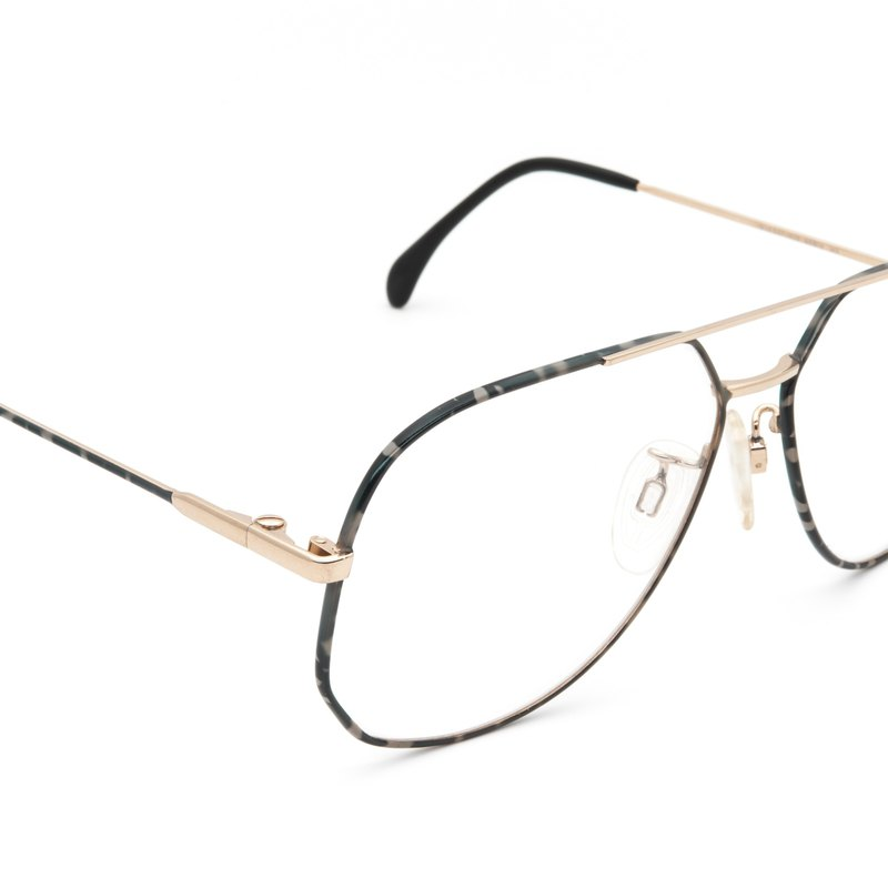 1980's senior 珐琅 classic Ray-Ban flying antique glasses