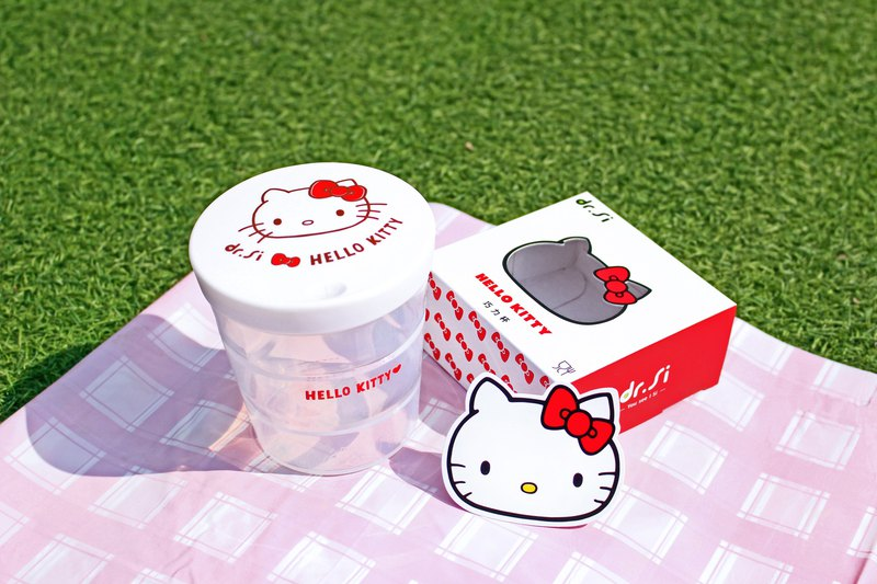 dr.Si x Hello Kitty loves Taiwan Qiaoli Cup 450ml