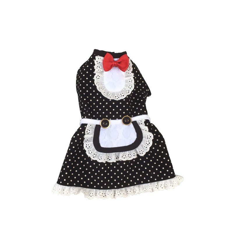 Pet clothes little little dress maid L ~ 2L