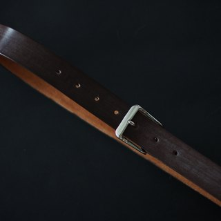 Handmade J&E Sedgwick English Bridle Leather Belt - Assorted Colour