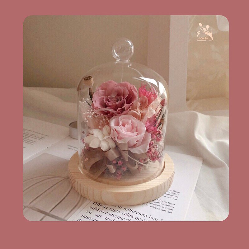 【ワークショップ】Dream Preserved Flower Glass Bell Jar/Taipei Class