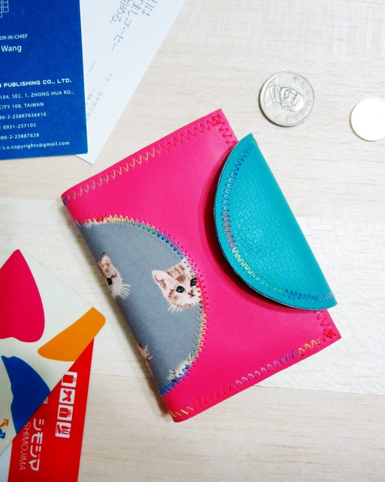 Taoyuan ticket card business card holder coin purse Card case coin purse