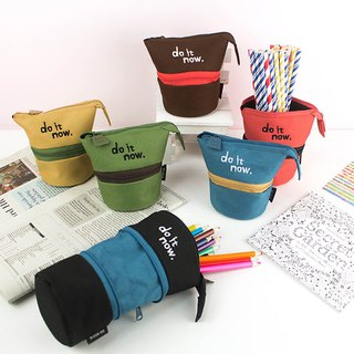 Zipper telescopic pen holder/storage bag