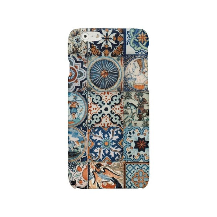 iPhone case Samsung Galaxy case phone hard case blue 301