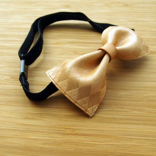 Handmade vegetable tanned leather colors tie England Check