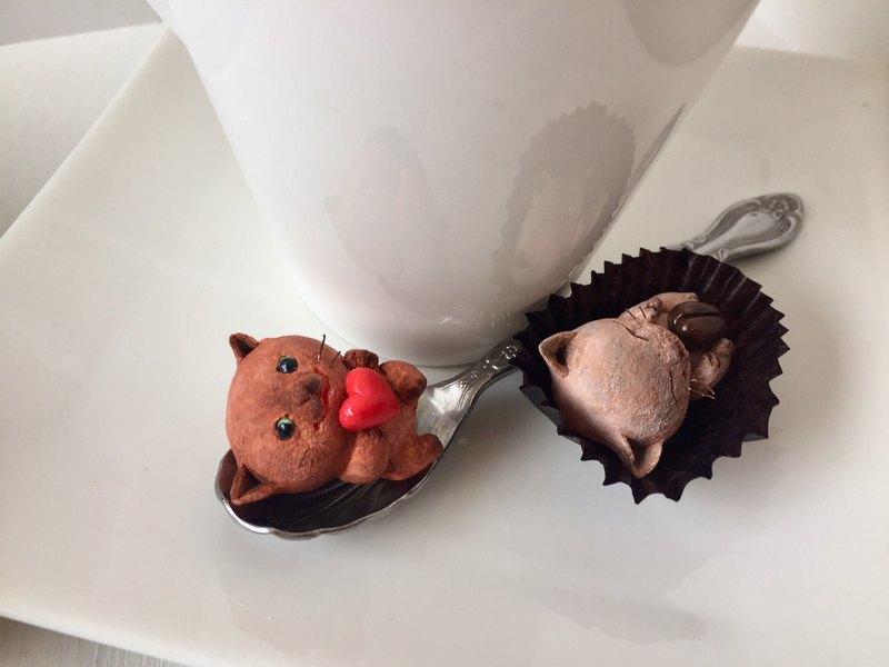 貓喜歡巧克力