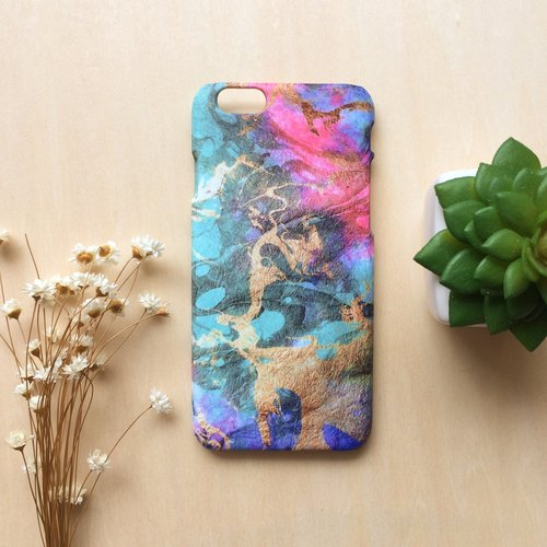 Vintage paper-cut with watercolor drawing. Matte Case( iPhone, HTC, Samsung, Sony, LG, OPPO)