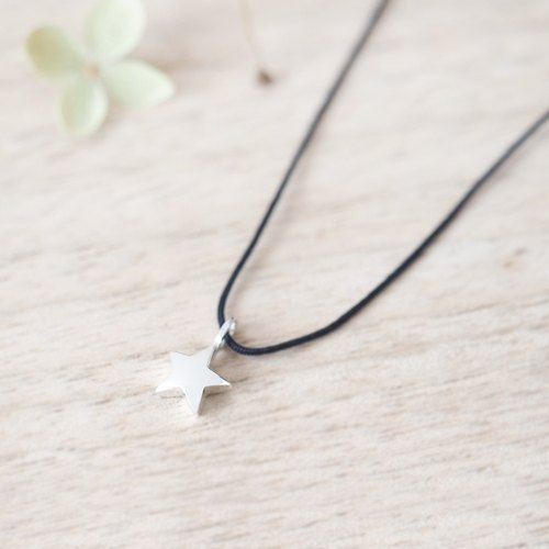 String star Necklace Silver925