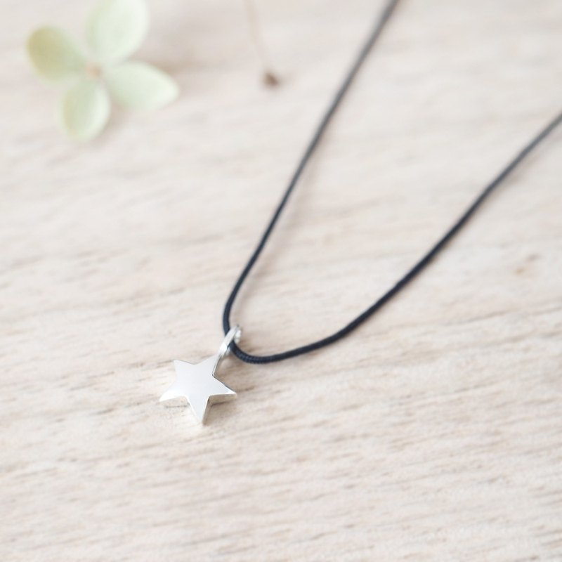 String 星 Necklace Silver925