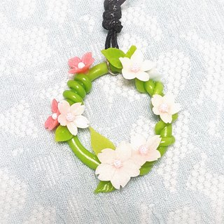 Department of Forestry girl wreath necklace