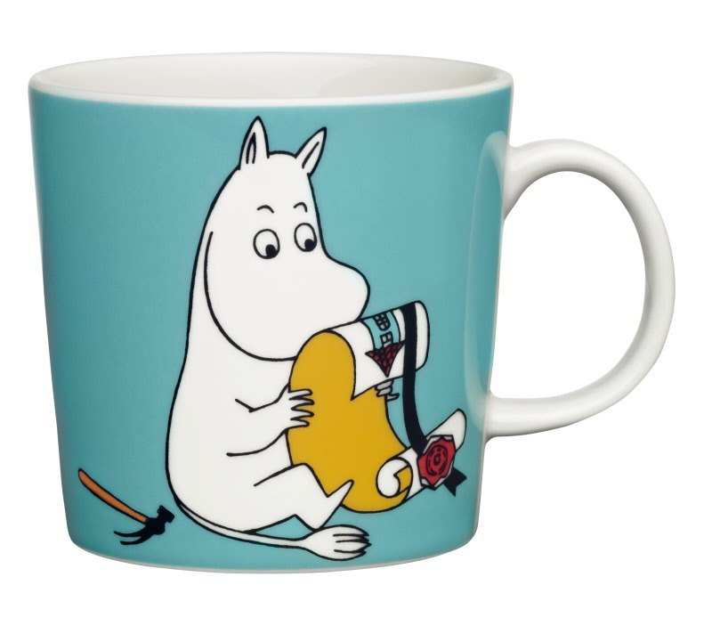 Finnish ceramics brand Royal Arabia Moomin series retro mug