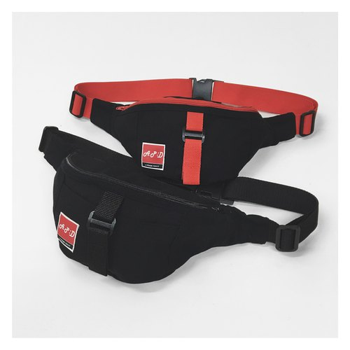 A‧PRANK :DOLLY :: APD fanny pack purse black/red in two stores, spending over 6,000 yuan