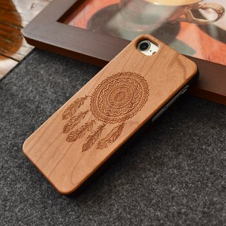 Sonrmum iPhone 6 S Dream net solid wood engraving mobile phone shell Apple 7 PLUS girls creative mobile phone case