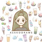 Asako's illustration | Hello Dango!