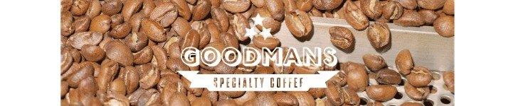 台灣設計師品牌 - GOODMANS SPECIALTY COFFEE