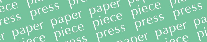 From Japan - paper piece press