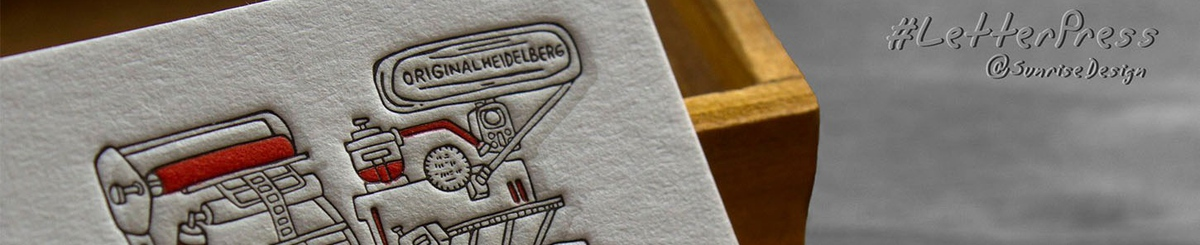 Designer Brands - sunrise-letterpress