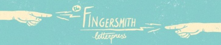 From Singapore - The Fingersmith Letterpress